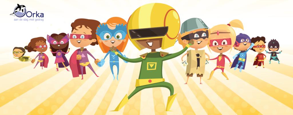 negen superhelden